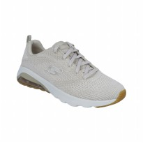 Sepatu Olahraga Senam Gym Fitness Skechers Air Extreme Women's - Natural 12921NAT