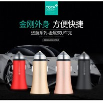 Totu Design Smart Car Charger Dual USB 2.4A - CC06
