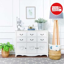 THE OLIVE HOUSE - ROSEMARRY WIDE DRAWERS WITH HANDLE
