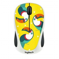 Mouse Wireless Logitech M238 Party Collection Toucan
