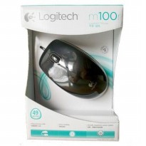 Logitech M100 - Mouse Wired / Kabel