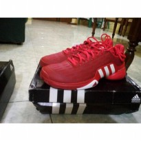 Sepatu Tennis Adidas Barricade 2016 - Red/White 100% Original Murah