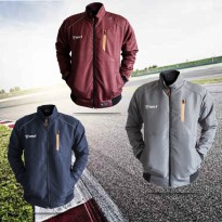 JAKET TASLAN TRACKTOP WATERPROOF ORIGINAL - DILENGKAPI SCOTLIGHT