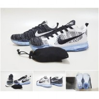 SEPATU BASKET Kobe 10 Elite Low Flyknit Shark Jaws (Premium Import)