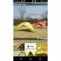 TENDA HILMAN EASY TARP TENDA PAMERAN CONSINA NATURE HIKE
