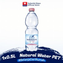 San Beneddetto Natural Water PET 0.5L