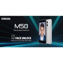 HANDPHONE SMARTPHONE EVERCOSS M50 NEW 4G LTE + FINGER P Limited