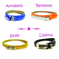 Ln'C Assorted Belts 2 [Free Bracelet!]