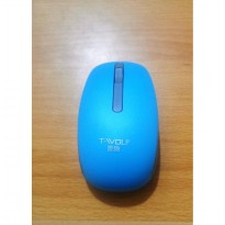 MOUSE WIRELESS T-WOLF Q0 / TWOLF GOOD QUALITY TERMASUK BATERAI