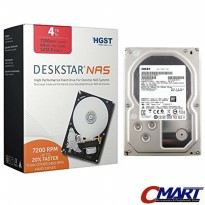 Hitachi 4TB HGST DESKTAR NAS 3.5' HDD Hardisk Internal HTC-0S04005 (c)