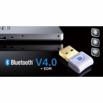 BLUETOOTH DONGLE CLIPTEC V.4.0 + EDR WITH CD DRIVER / BLUETOOTH RZB939