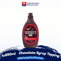 Hershey Chocolate Syrup / Sirup Coklat Topping 650 ml