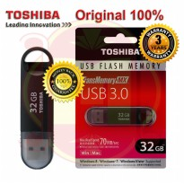 Original Flashdisk Toshiba 32GB USB3.0 (Garansi 3 thn) | Flash Disk Toshiba Suzaku 32GB Asli