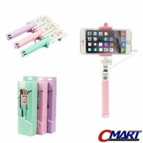 Robot Tongsis Kabel Selfie Stick Stik Monopod Wired Cable - ROB-RT-S03