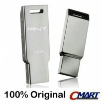 PNY Titan Attache 64GB USB 2.0 Flashdisk Flasdisk - PFTIT064