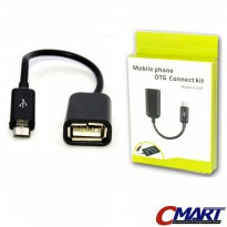 Kabel micro USB OTG (On-The-Go) cable microUSB - CBL-UB2AFCM-015OTG
