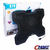 M-Tech 878 Laptop Cooling Pad Fan Pendingin Coolingpad - MTC-NC-878