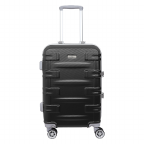 Koper hardcase Zipperless Santa Barbara 610-36 20 inch Black