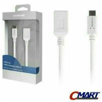 Capdase Kabel USB 3.0 Type C to Type A Data Charger Cable - HC00-T302