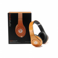 Beats by Dr. Dre Studio Orange Headphone OEM Quality Clear Bass Sound