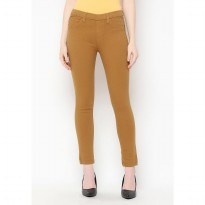 Mobile Power Ladies Legging Long Pants - Brown F3406