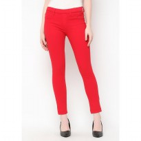 Mobile Power Ladies Legging Long Pants - Red F3407