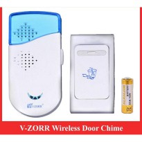 Door Bell Chime Wireless V-ZORR / Wireless Door Bell