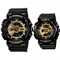 Jam G Shock Baby-G Couple Sports Series Ga-110GB-1a Ba-110-1a G-pair