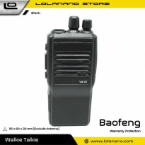 Taffware Walkie Talkie Single Band 5W 16CH UHF - VS-51 - Black