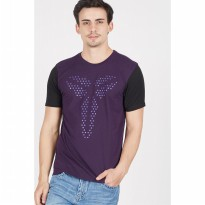 [BERRYBENKA] MEN AS KOBE STEALTH SHEATH TEE PURPLE DYNASTYBLACKDARK IRIS
