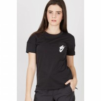 AS W NSW SIGNAL TEE BLACK WHITE