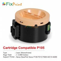 Cartridge Compatible Xerox P105 P215 P205 M215 M205 Monochrome
