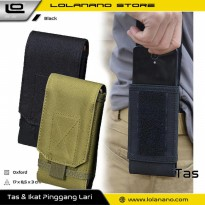 Tas Holster Tactical Outdoor Smartphone 6 Inch - BW2503458 - Black