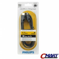 Philips Kabel HDMI to HDMI 1.8m Cable 1.8 m meter original - SWV5401H