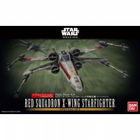 Star Wars 1/72 & 1/144 Red Squadron X-Wing Starfighter - Bandai