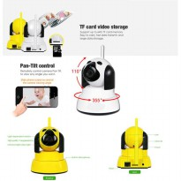 HD Wireless CCTV IP Camera WiFi P2P 720p Yoosee Dog Puppy Baby Monitor