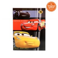 Cars Shool Book Al Gold Pocket 38 (3Pcs)