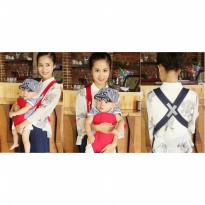 Multifuctional Baby Sling Backpack Tas Gendong Gendongan Bayi 4 in 1