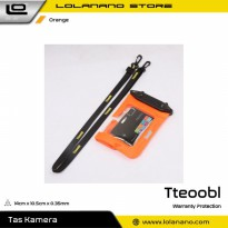 Tteoobl Waterproof Cover Bag for Pocket Camera - A-010C - Orange