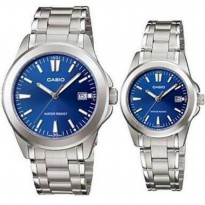 Jam Tangan Rantai Casio Couple Original 1215A-2A2