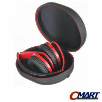 EVA Tas dompet Hard Case Headphone Headset Earphone - EVA-CS-OMSK7BBK