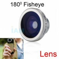 Fisheye Single Lens 180 for Handphone | Lensa HP Fish Eye Universal