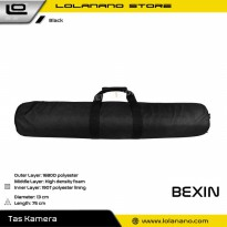 BEXIN Tas Tripod Photography Shockproof Waterproof 13 x 75 CM - YP-4-022-15 - Black