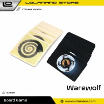 Warewolf Card Board Game - Chinese Version