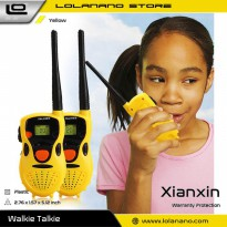 Xianxin Kids Toys Mini Walkie Talkie Anak 1 Pasang - 178 - Yellow
