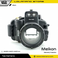 Meikon Waterproof Camera Case for Nikon D7000 - Black