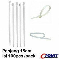 Cable ties 20 cm Pengikat kabel 20cm tis tie 100pcs/pack ACC-CT-20-100
