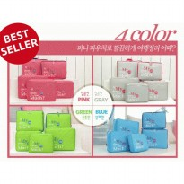 Travel Pouch Bag in Bag 5 in 1 (5 Pieces) Organizer Tas Penyekat