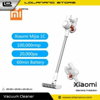 Xiaomi Mijia Penyedot Debu Handheld Wireless Vacuum Cleaner - 1C - White
