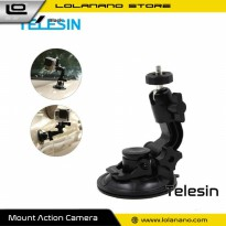 Telesin Car Windshield Suction Mount for GoPro - GP-SUC-003 - Black